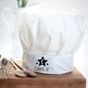 Personalised Star Kids Chef Hat