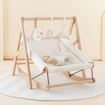 Beechwood And Cotton Bouncer