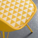 Retro Patterned Chair