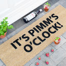 Pimms O Clock Patio Doormat