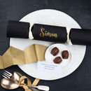 Personalised Beer Barrel Chocolate Christmas Cracker
