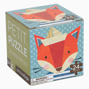 Fox Mini Jigsaw Puzzle - puzzles