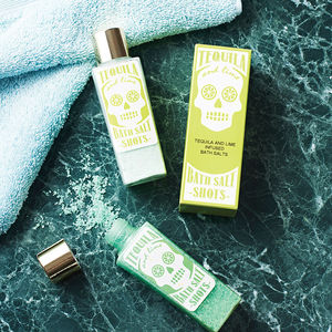 Tequila And Lime Bath Salt Shots - gifts for him