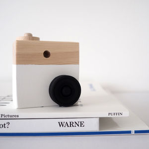 Personalised Wooden Camera Toy