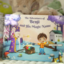 Personalised Children's Name Book of Stories