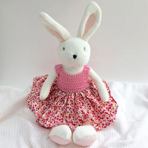 Bunny Luxury Large Pink Cuddly Toy - soft toys