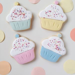 Cupcake Party Biscuits - party bags and ideas