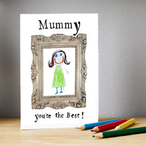 Draw Your Own Mother's Day Card