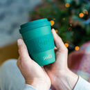 Personalised 'Choose To Reuse' Reusable Travel Mug