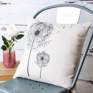 'Dandelions' Cushion Cover - bedroom