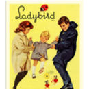 Retro Ladybird Clothes Advertisement Print