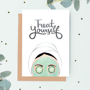 'Treat Yourself!' Gift Card