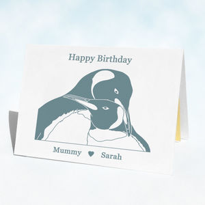 Birthday Penguins Birthday Card - birthday cards