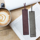 Leather Bookmark With Free Personalisation