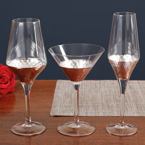 Coppertino Luxury Christmas And Formal Dining Glassware - table decorations