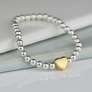 Tilly Childrens Gold Heart Bracelet - bracelets