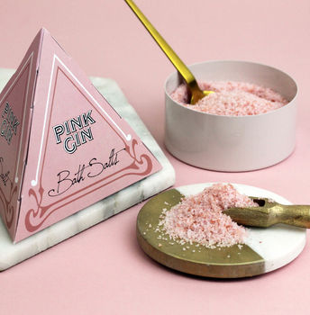 Pink Gin Scented Bath Salts