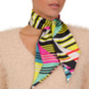 Abstract Twilly Silk Scarf
