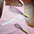 Personalised Whisk Apron