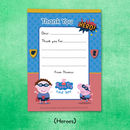 Personalised Peppa Pig: Thank You Notes