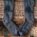 Bamboo Super Socks Hand Printed Penny Farthing