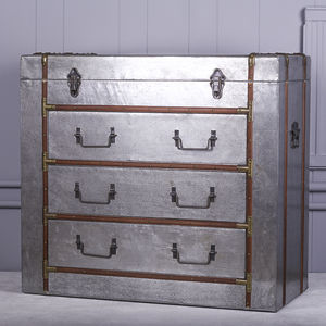 Antique Treasure Chest Of Drawers - what's new