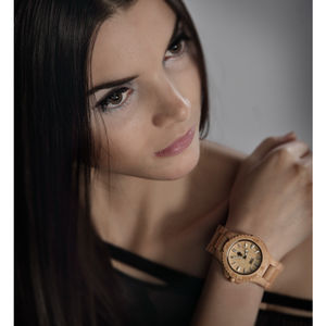Wooden Date Eco Watch - watches