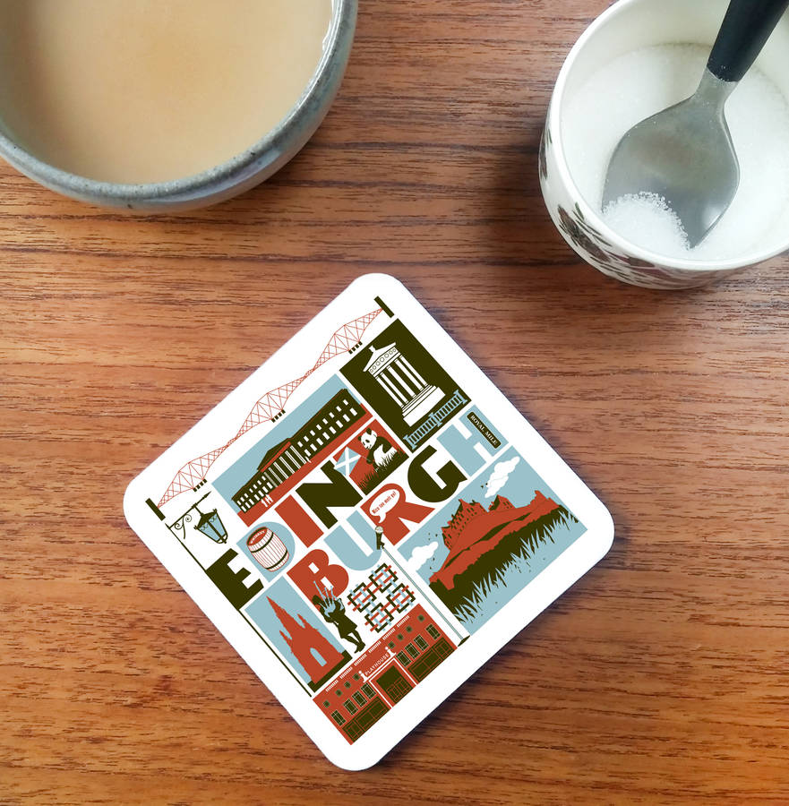 Edinburgh Scotland Coaster
