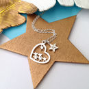 Stars In My Heart Necklace