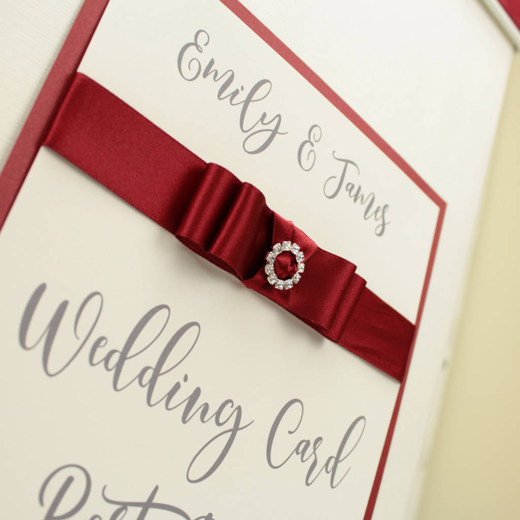 personalised dior wedding post box by dreams to reality design ltd ...