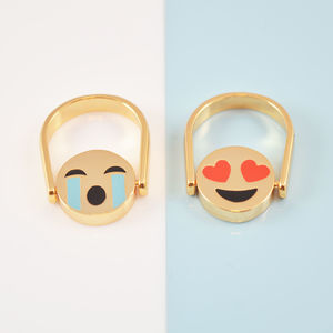 Reversible Emoji Ring - gifts for teenagers