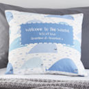 Whales Personalised Cushion