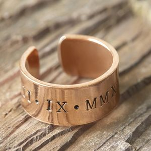 Chunky Copper Cuff Ring