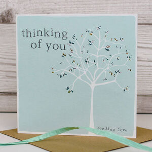 Thinking Of You Sending Love Card