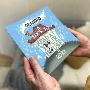 Personalised Story Book For Grandad