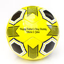 Personalised Father's Day Football