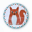 Anna Squirrel Pocket Mirror