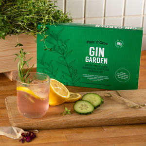Gin Botanical Cocktail Garden Kit And Planter - pots & planters