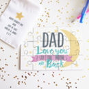 Personalised Dad Love You To The Moon And Back Puzzle