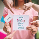 18 Reasons You're Amazing Keepsake Card