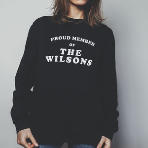 Proud Member Of / Jumper Sweatshirt For Her - women's fashion