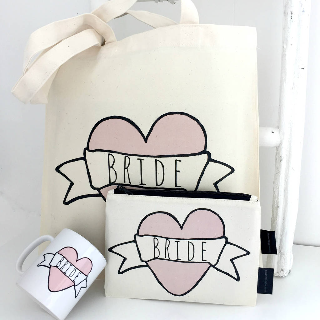'Bride' Wedding Gift Box