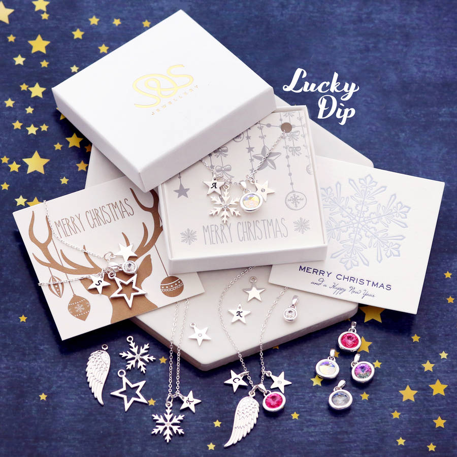 lucky dip christmas jewellery gift by j&s jewellery ...