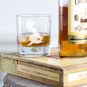 Home Is Where The Heart Is Whisky Tumbler - gifts for grandparents