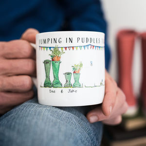 Personalised Mini Me Mug - gifts for fathers