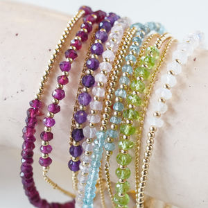 Meaningful Gemstone Friendship Bracelets