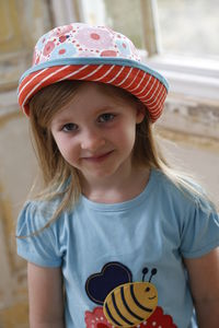 Reversible Strawberry Floral Sun Hat - children's accessories