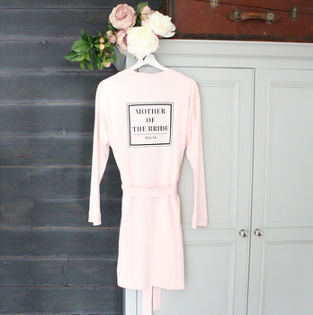 'Mother Of The Bride' Wedding Robe
