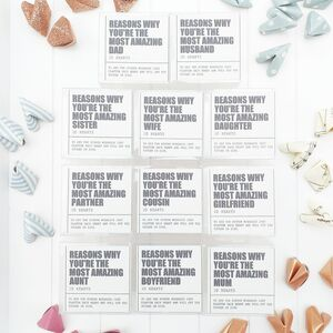 Origami 'Reasons Why You're The Most Amazing'