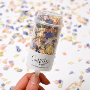 10 Petal Confetti Pops - your summer wedding